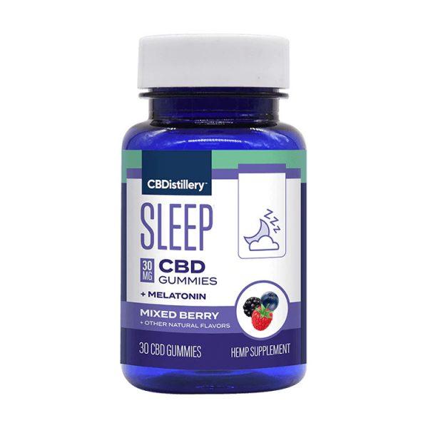 CBDistillery Broad Spectrum Sleep Aid CBD Gummies 30mg 30ct